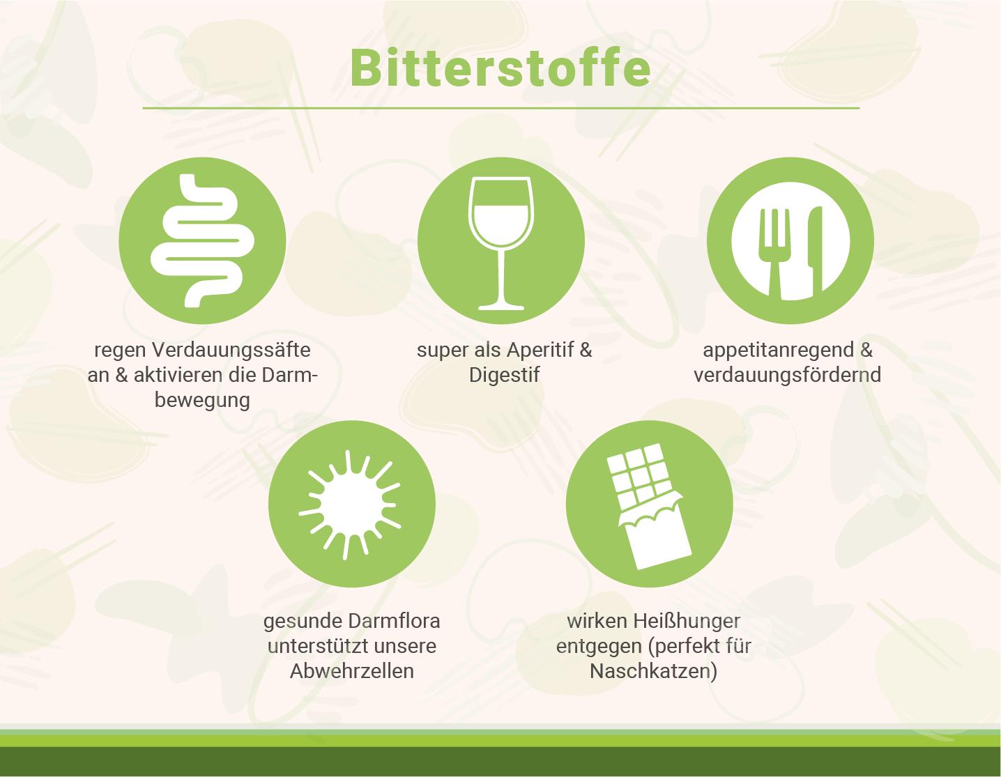 infografik-bitterstoffe-verdauung-und-vorteile-fuer-gesunde-darmflora