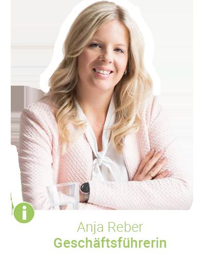 Geschäftsführerin Anja Reber