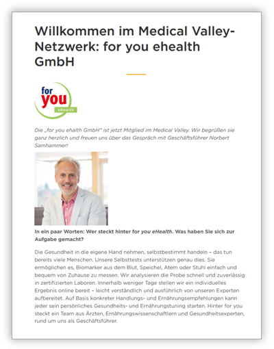 for-you-presse-medical-valley